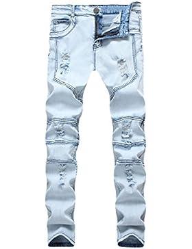 Pantalones Vaqueros Azules Claro
