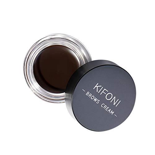 ziYOU Makeup Eyebrow Dye Gel Wasserdicht Shadow für Augenbrauen Long Lasting Tint Shade(Schwarz E) -