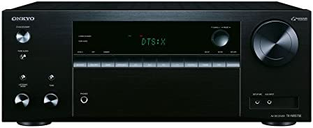 Onkyo 7.2 Kanal AV Receiver, TX-NR575E-B, 135 Watt/Kanal, Multiroom, Heimkino, Dolby/DTS:X, WLAN, Bluetooth, Streaming, Musik Apps (Spotify, Tidal, Deezer), Radio, USB/HDMI/Audio in, Schwarz, 1500440