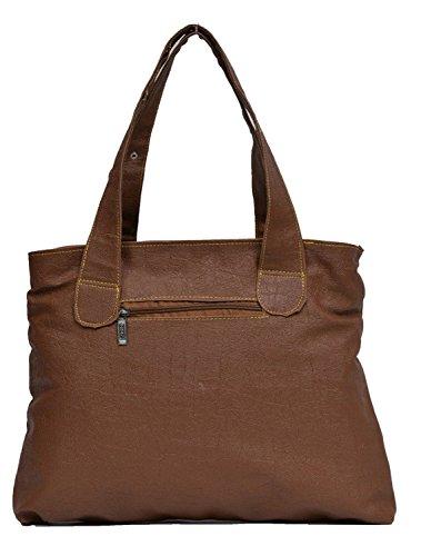 Deal-Especial-Bucket-Handbags-Shoulder-Leather-Bag-Womens-Ladies-Brown-113