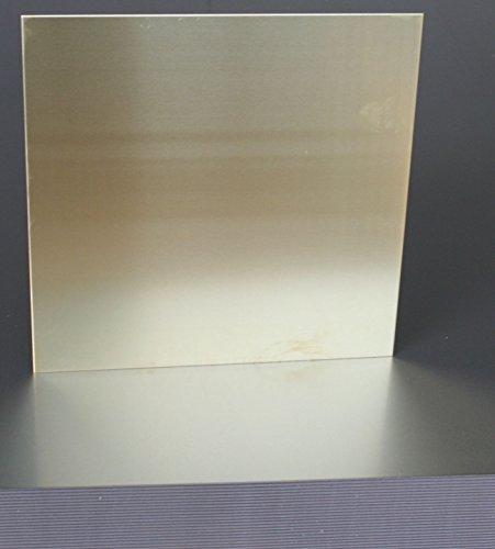 1mm x 200mm x200mm in lamiera d' ottone rame 63% di zinco 37% di Stahlog