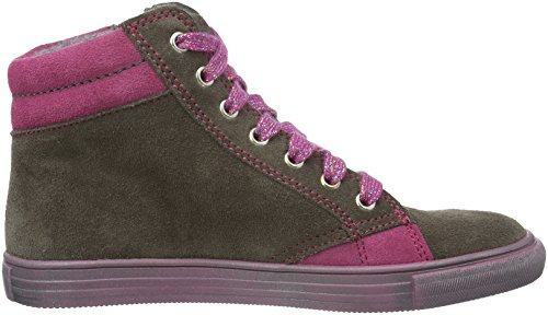 Richter Kinderschuhe Fedora, Baskets Basses Fille Gris - Grau (pebble/Mallow/Fuchsia 6611)