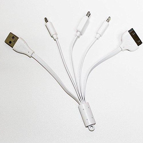4in 1carica veloce del telefono mobile, cavo caricatore USB, 8/30pin per iPhone 4S/5/5S/6/6S/7Plus/7s/iPad, Samsung Note