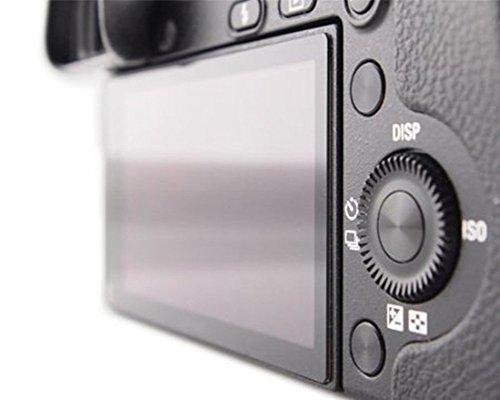 Maxsimafoto® - LCD-Glas / Displayschutz für Sony A6000, A6300, A6500 hohe Transparenz, kratzfest, entspiegelt, Ritzen