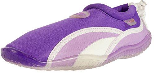 AQUA-SPEED Scarpe Di Acqua Per Spiaggia - Mare - Lago - Pantofole Ideale Come Protezione Per I Piedi - #As12b Viola