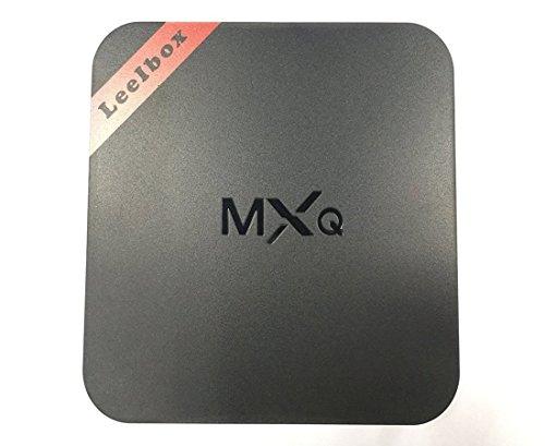 Leelbox MXQ Android TV Box Android TV Caja Amlogic S805 Quad Core Android 4.4 1GB de RAM 8 GB de Flash Pre instalado Smart TV Box Negro