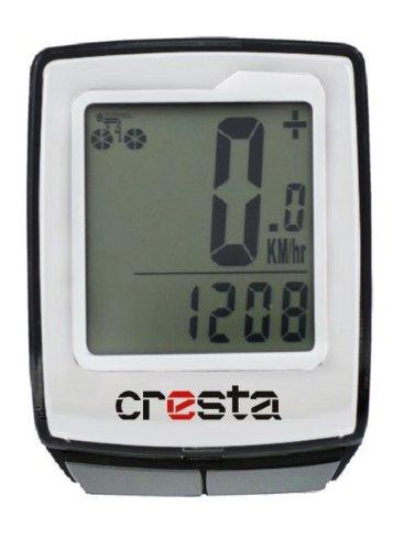 Cresta PCF513 Compteur de vélo Argent