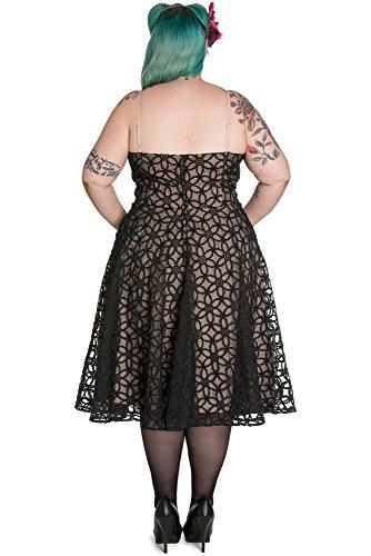 Ligne bunny robe bEV 50 's robe 4391 Noir - Noir