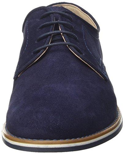 BATA 8239267, chaussures à lacets homme Bleu