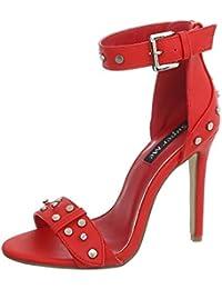 d263318f6c6f Suchergebnis auf Amazon.de für  rote sandaletten - Letzter Monat ...