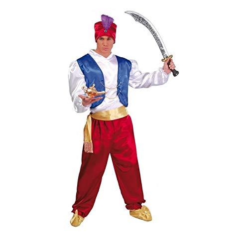 Guirca Costume vestito Aladino principe arabo carnevale uomo 84699