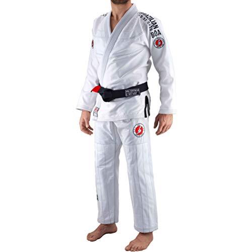 Bõa Jogo No Chao 3, 0 BJJ Gi - Kimono para Hombre, Hombre, Color Blanco, tamaño A2