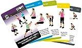STOP! Fitness | Training mit dem Powerband | Trainingskarten Übungskarten, deutsche Version, Kartengröße 66 x 100 mm mit Kunststoffbox