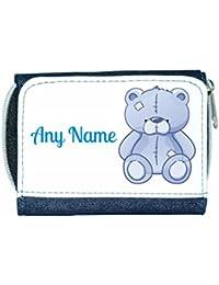 Personalised BLUE TEDDY BEAR PE//School//Swimming//Bag by Mayzie Designs®
