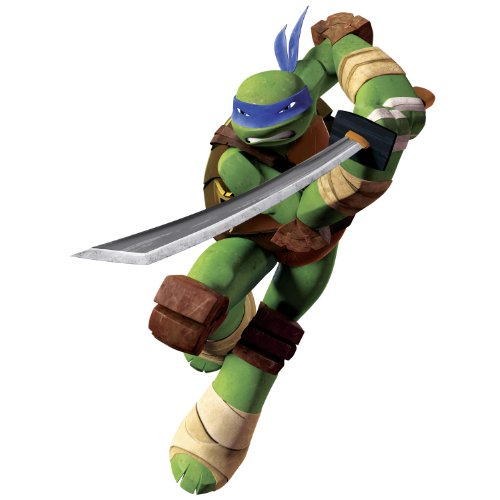 RoomMates Teenage Mutant Ninja Turtles Leo WANDSTICKER ** Peel & Stick Giant Wall Decals