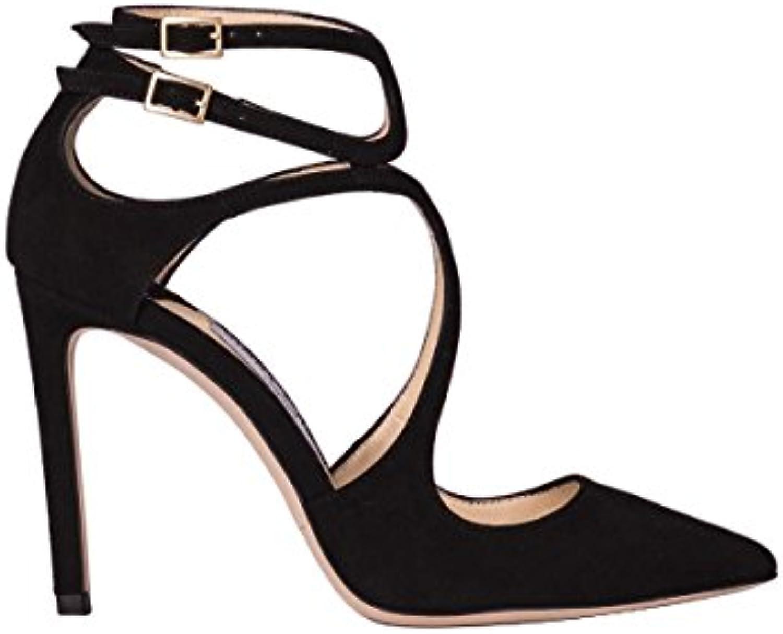 1737d2588bf Jimmy Choo Femme LANCER100SUEDEBLACK Noir Suède Chaussures À  TalonsB0799LYWM4Parent TalonsB0799LYWM4Parent ...