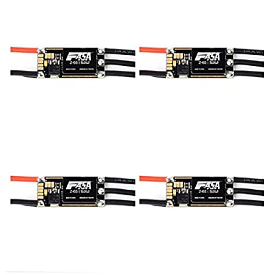 4 PCS T-motor F45A 45A Blheli_S 2-6S Brushless ESC D-shot 600 In Default for RC Drone FPV Racing from Dkpshop