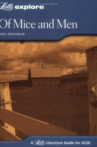 Of Mice and Men: GCSE Text Guide (Letts Explore GCSE Text Guides) by John Steinbeck (2004) Paperback