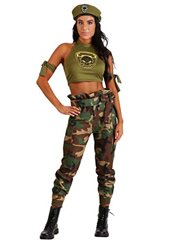 FUN Costumes Green Beret Beauty Women's - Special Ops Kostüm