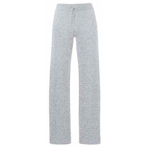 Lady Fit Jog Pants | Damen Jogginghose Farbe graumeliert Größe L