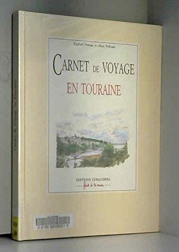 Carnet de voyage en Touraine (Fait à la main)