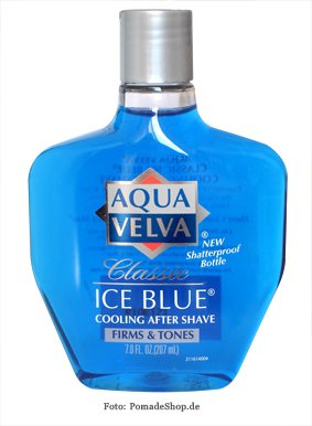 Aqua Velva Classic Ice Blue After Shave, 207 ml