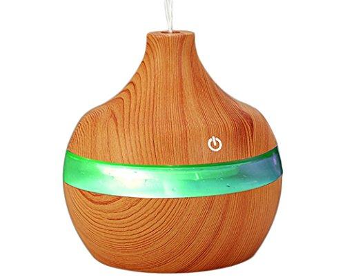Preisvergleich Produktbild NN 7 Farbe Holz Luftbefeuchter Luftbefeuchter Luftbefeuchter Aromatherapie Auto Luftbefeuchter , Green , 110*110*115Mm,green,110*110*115mm