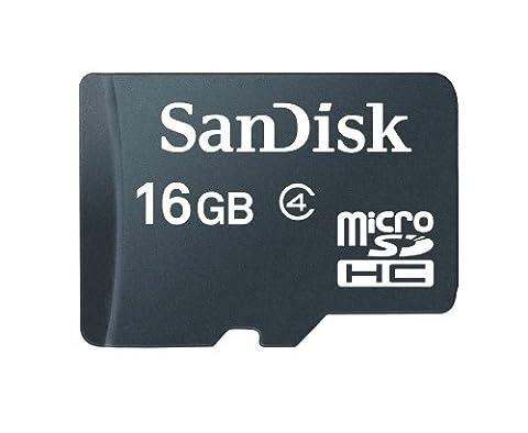 SanDisk microSDHC 16GB Class 4 Speicherkarte (Amazon Frustfreie