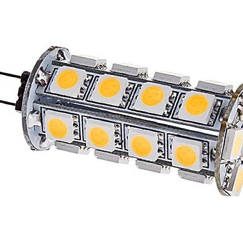 TJDlight G4-5D 5W 250LM 3500K bianco caldo LED lampadina luce(DC 12V)