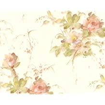 A.S. Création papel pintado Romantica colorido metálico 10,05 m x 0,53 m 676610