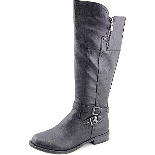G By Guess Heylo Wide Calf Damen US 7 Schwarz Mode-Knie hoch (Rabatt Stiefel Knie Hoch)
