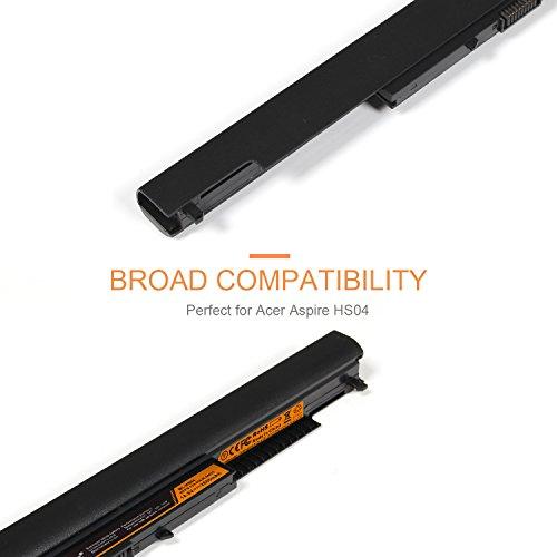 LENOGE 2600mAh HS04 HS03 Laptop Replacement Battery for HP 807957-001  807612-421 807956-001 HSTNN-LB6U HSTNN-LB6V, HP 240 G4 245 G4 246 G4 250 G4  255