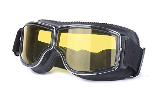 Gnzoe TPU Motorradbrillen Radsportbrille Outdoor Fahrradbrille Schutzbrillen für Motorrad Fahrrad...