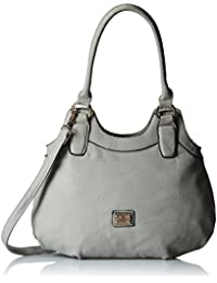 Gussaci Italy Women's Handbag (Grey) (GUS039)