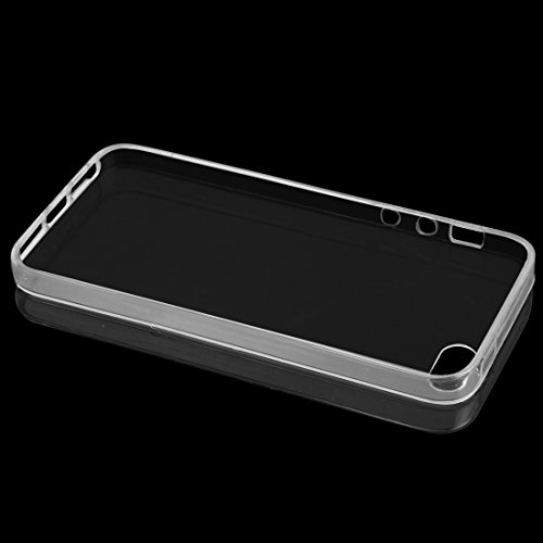 EKINHUI Case Cover Ultradünnes transparentes TPU schützender weicher Fall-Gummi-Silikon-Haut-Abdeckungs-Fall für IPhone 5S 5 SE ( Color : Clear , Size : IPhone 5S SE ) Clear