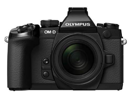 """Olympus OM-D E-M1 Fotocamera Mirrorless 16.3 MP, Kit Obiettivo M. Zuiko Digital ED 12-50 mm 1:3.56.3 EZ, Display LCD TFT 3"""", HDR, Nero"""