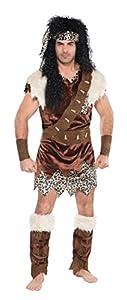 Christy`s - Disfraz de neandertal para hombre, talla 42 inch (996955)