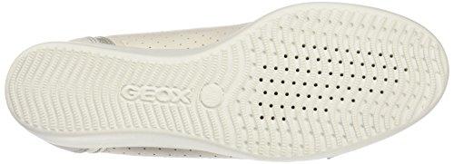 Geox Damen D Stardust A Sneaker Elfenbein (off Whitec1002)