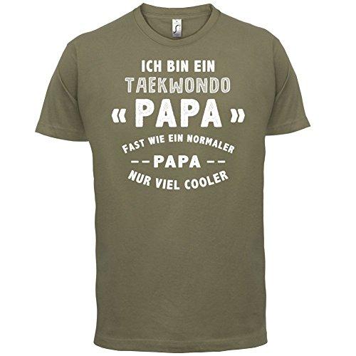 Ich bin ein Taekwondo Papa - Herren T-Shirt - 13 Farben Khaki