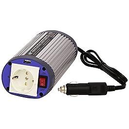 HQ INV150WU-12 Inverter per Batteria da 12 V in Auto e Barca, Acciaio