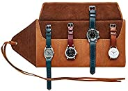 Ryokō GMT Watch Roll | Leather Watch Organiser