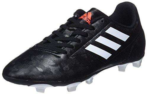 adidas Unisex-Kinder Fußballschuh Conquisto II FG Jungen Gymnastikschuhe Schwarz (Core Black/FTWR White/solar Red) 31 EU