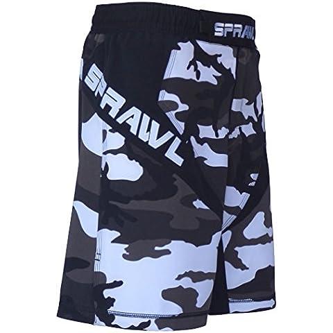 Sprawl MMA Fusion 3 Serie Lucha Pantalones cortos - urban Camuflaje - 91cm