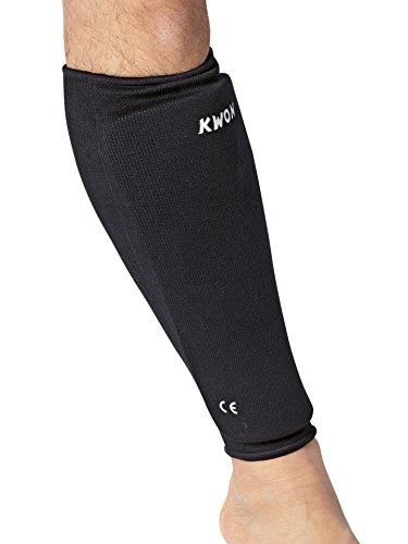 KWON® Schienbeinschutz BW L/XL Senior schwarz