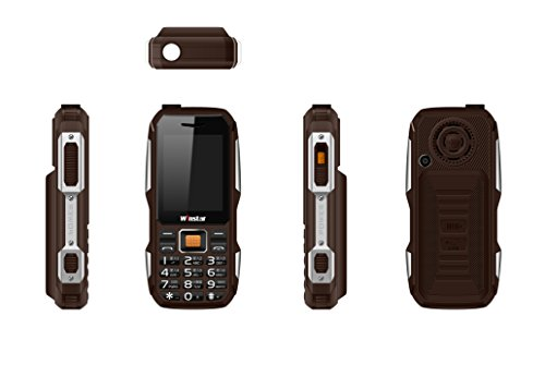 Winstar by Forme W11 Power Bank Phone 3800mAh Battery Big Torch (Coffee)