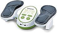 Beurer FM 250 Dispositivo per Stimolazione Elettrica del Tessuto Muscolare per Alleviare Gonfiori e Dolori a G