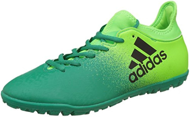 adidas Botas de Fútbol de Sintético Hombre, Hombre, Verde, 11