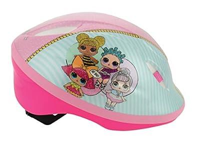 LOL Surprise Girls Safety Helmet, Pink, 48-54cm by MV Sports & Leisure