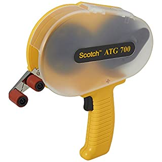 Scotch ATG700 Adhesive Applicator System, Yellow