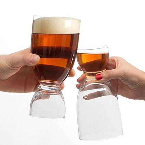 Verre à Bière avec Verre à Shot